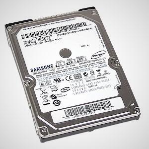 HP Designjet 5500ps Hard drive
