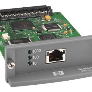 HP Jetdirect 635N Netwerkkaart - printserver voor de HP Designjet en Laserjet - J7961G, J7961A